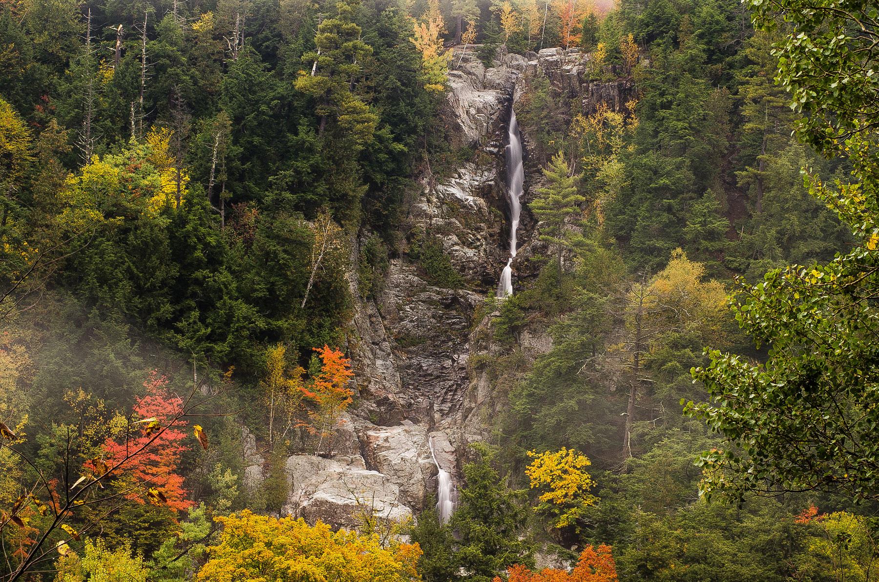 Roaring Brook Falls - Keen Valley | Dig The Falls